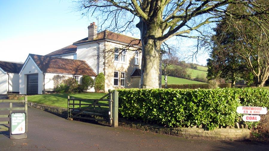 Glebe Farm Entrance